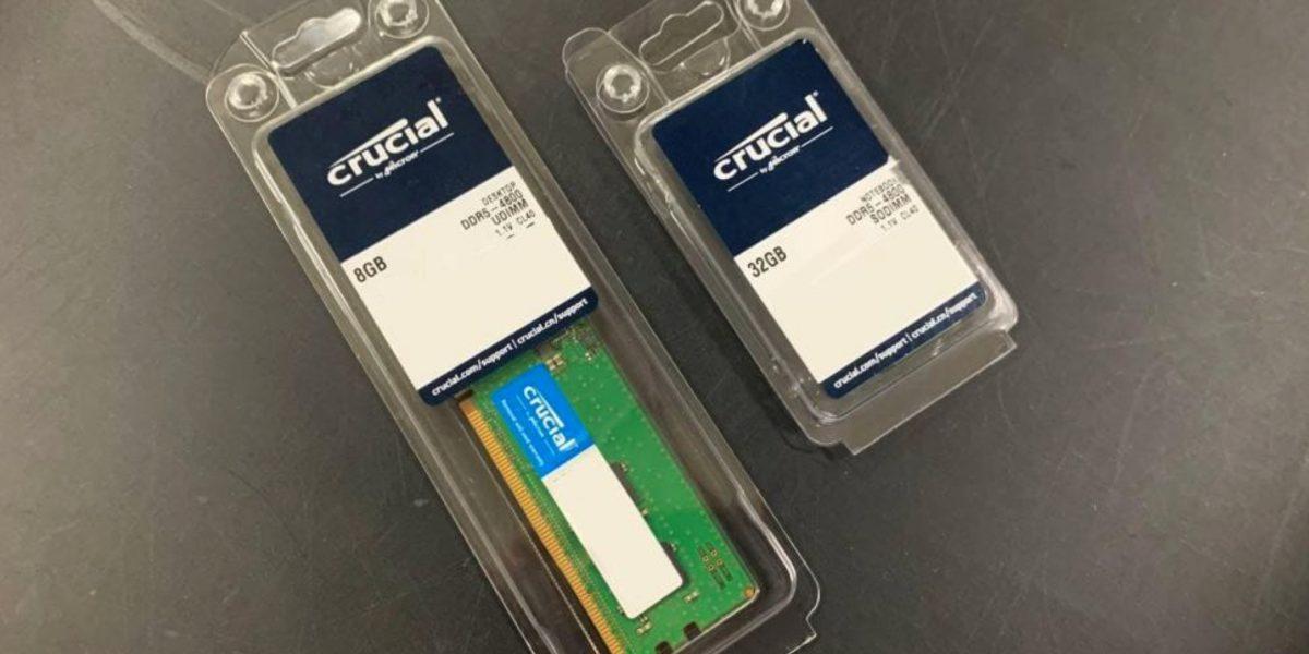 RAM : les premières barrettes DDR5 prêtes à être commercialisées